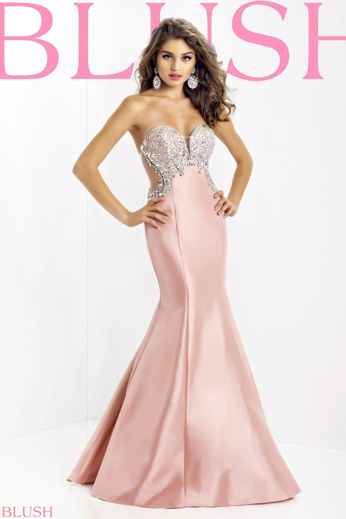 Blush prom dress! 2014 season www.facebook.com/thebridalconnection ...