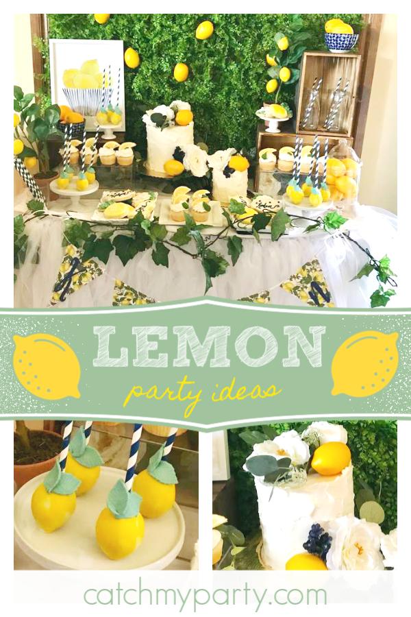 Pin on Lemonade Party Ideas