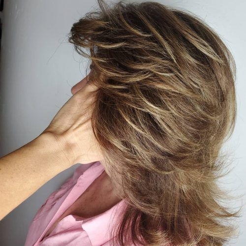 42++ Feathered hairstyles for short length hair inspirations