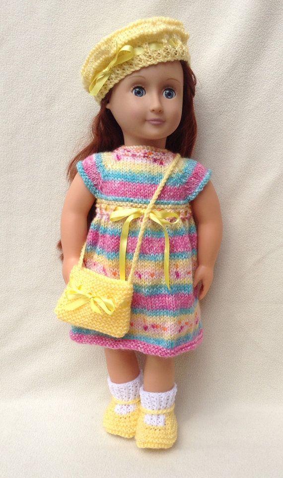 19 amerikanisches Mädchen Puppe zufällige Kleid Set von jacknitss ...