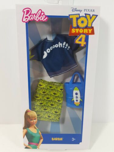Barbie Doll Clothes Mattel, Toy Story 4 Fashion, Alien Top & Skirt, FXK75  | eBay #historicaldollclothes