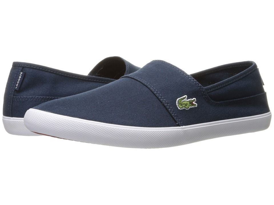 ce601847cfbf4 Lacoste Marice BL 2 Men s Shoes Dark Blue Dark Blue