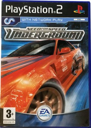 Need For Speed Underground Ps2 Poya