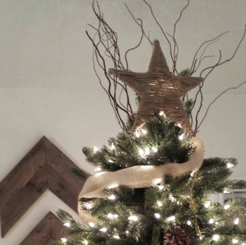 The Shannon Leigh Art Rustic Farmhouse Christmas Star Tree Toppers Are Perfect F Christmas Tree Topper Rustic Diy Christmas Tree Topper Country Christmas Trees