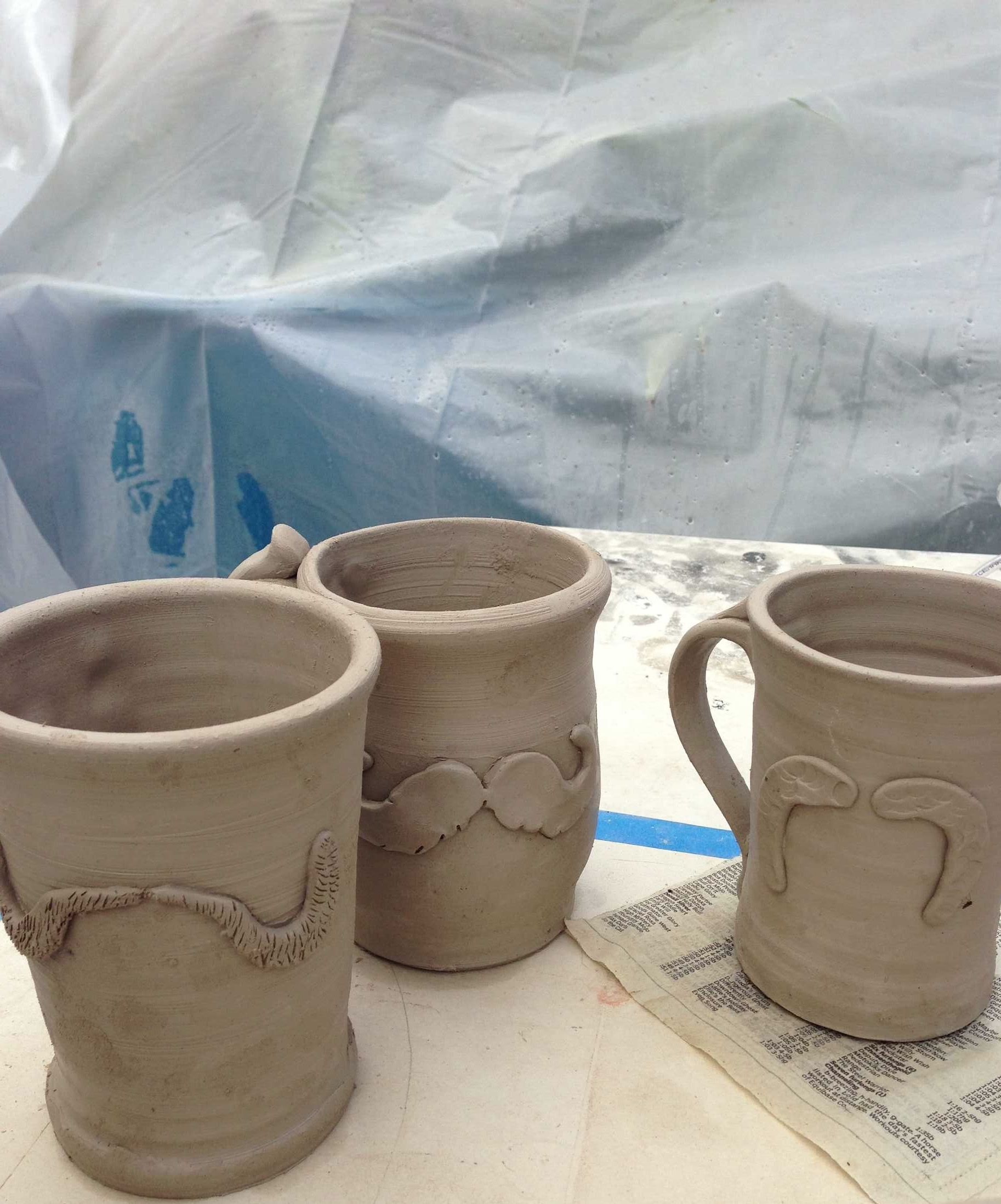734870e02ee Stoneware mugs with custom logo custom designed for state and pride in hot  springs Arkansas