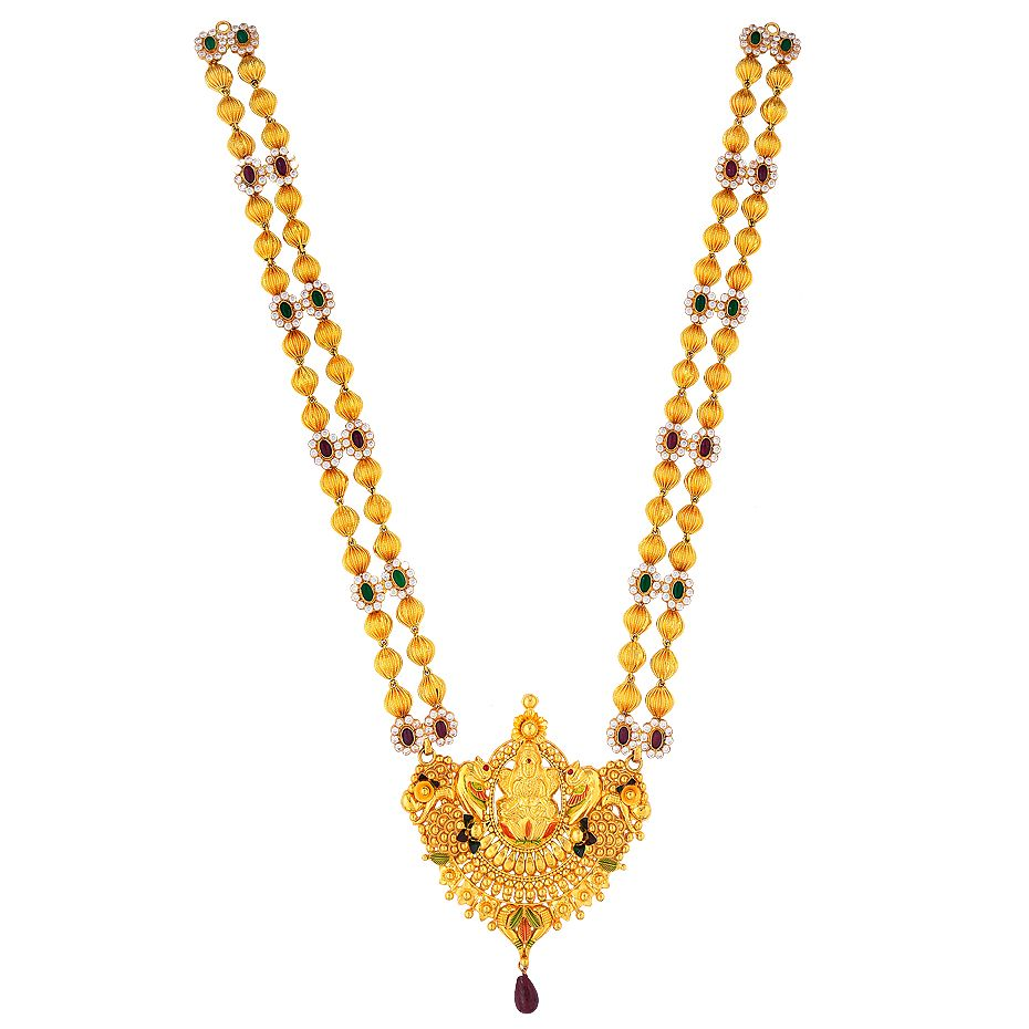 Prince Jewellery Golden Necklace - Product Code : 5-12A68632 ...