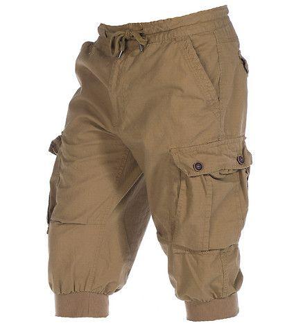9da826fbb8 DECIBEL Rip stop jogger cargo capri pant Zip and button closure Adjustable  drawstring for comfort 6 pockets Durable material for ultimate performance