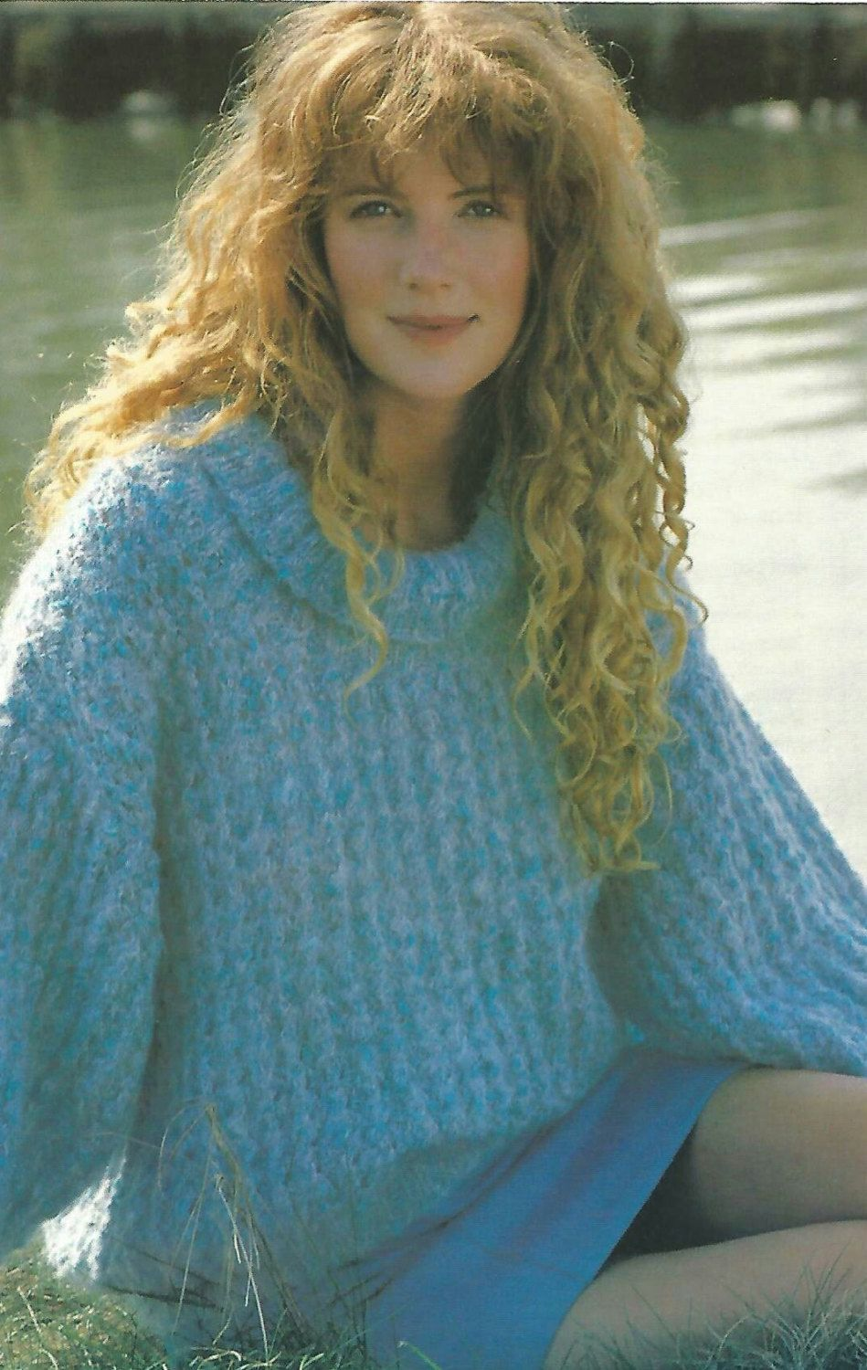 f36a8a2b2be24a Knitting Pattern Ladies  Girls Sweater  jumper Lace Stitch in Mohair type  yarn size 32-38in 81-97cm by makenshare on Etsy