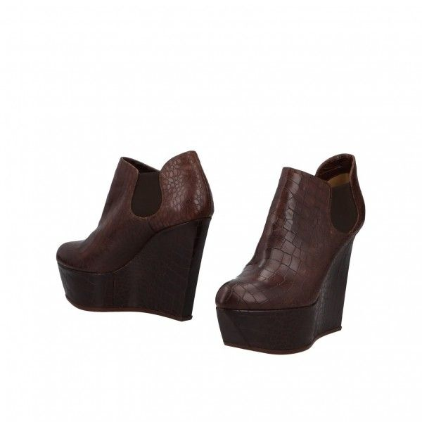 615726263515 Chocolate Round Toe Wedge Booties Casual Platform Ankle Boots for Work
