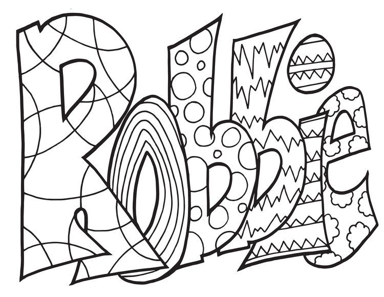 - ROBBIE Free Coloring Page #robbie#personalized#custom#coloringpages#adultcoloring#kidsa…  Free Printable Coloring Pages, Free Printable Coloring, Coloring Pages