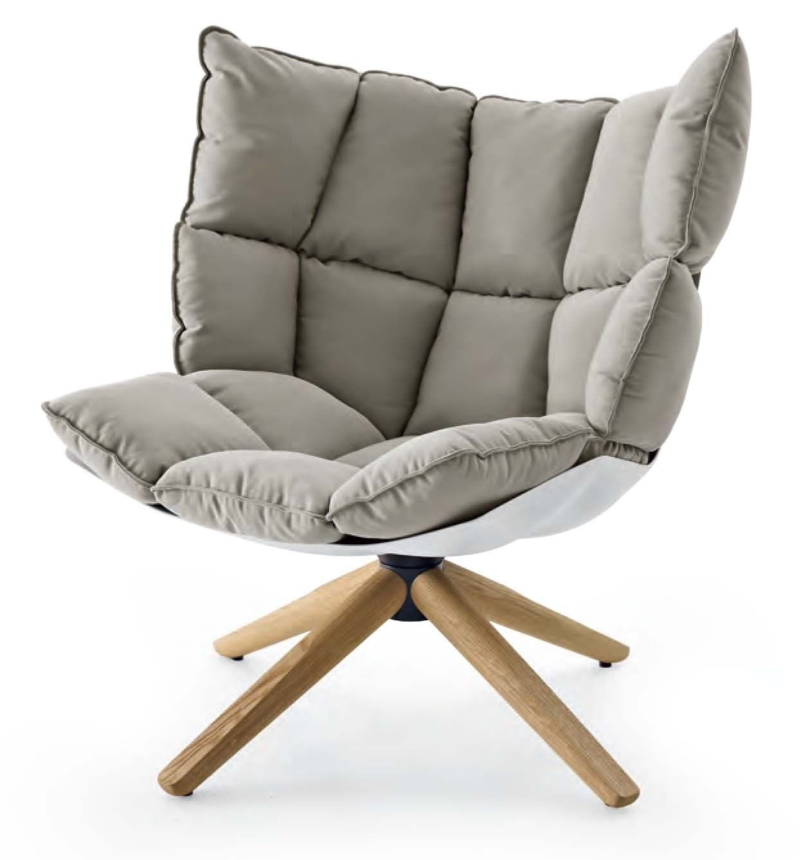 B&B Italia design fauteuil Husk | Van der Donk interieur Gorinchem ...