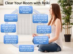 [Infographic] Clear Your Room with Reiki - Reiki Rays