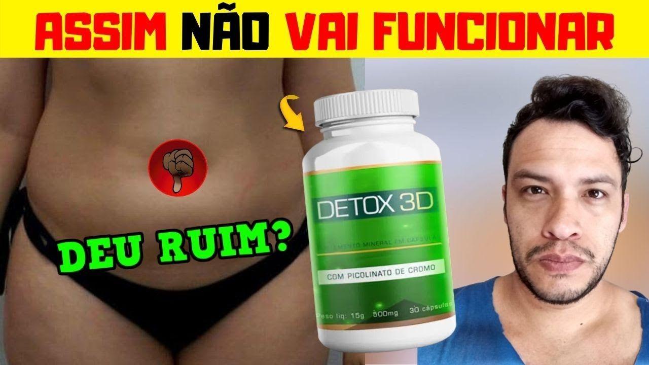 detox 3d preço