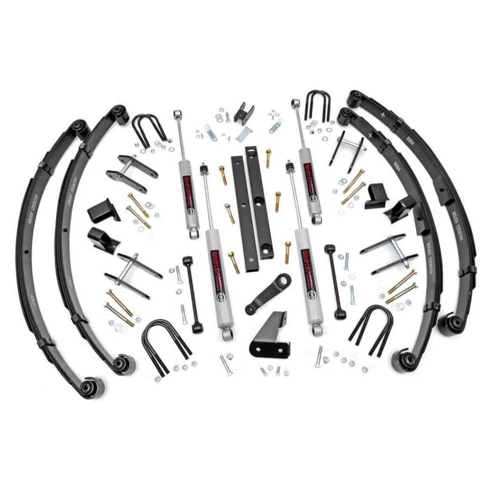 Rough Country 4.5 inch Suspension Lift Kit for the Jeep