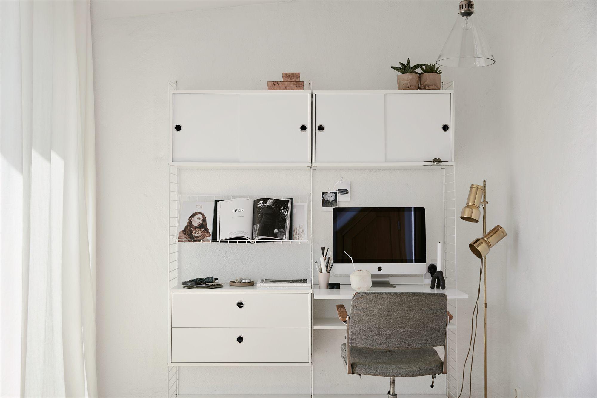 Workspace Bedroom Stockholm scandinavian design interior deco ...