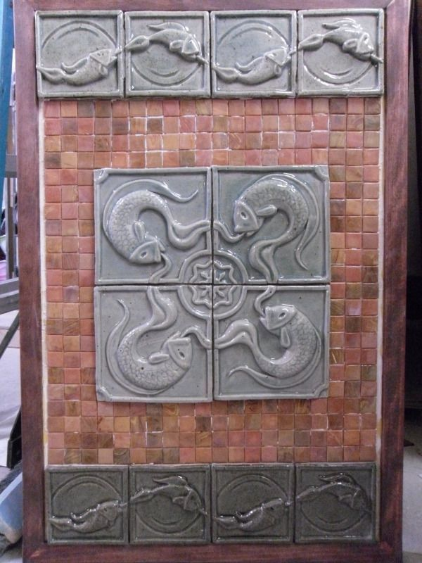 These tiles are so cool!    http://www.williamlupkindesigns.com/projects/i29-p50-Hand-Crafted-Ceramic-Tiles