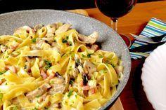 Jäger Pasta Pfanne - Zu Faul Zum Kochen ? #birthday recipes #cake #desserts #diet and nutrition #food and drinks #healthy recipes #Holiday #italian recipes #personal celebration #special diet #vegan recipes
