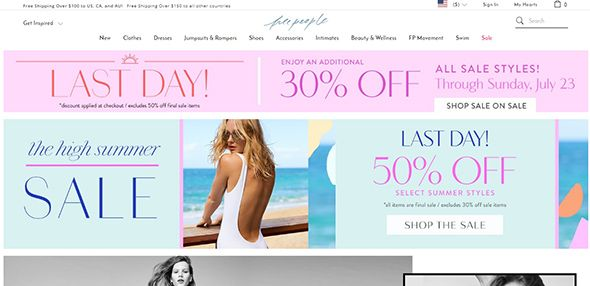 25 cool website designs from the apparel industry pinterest
