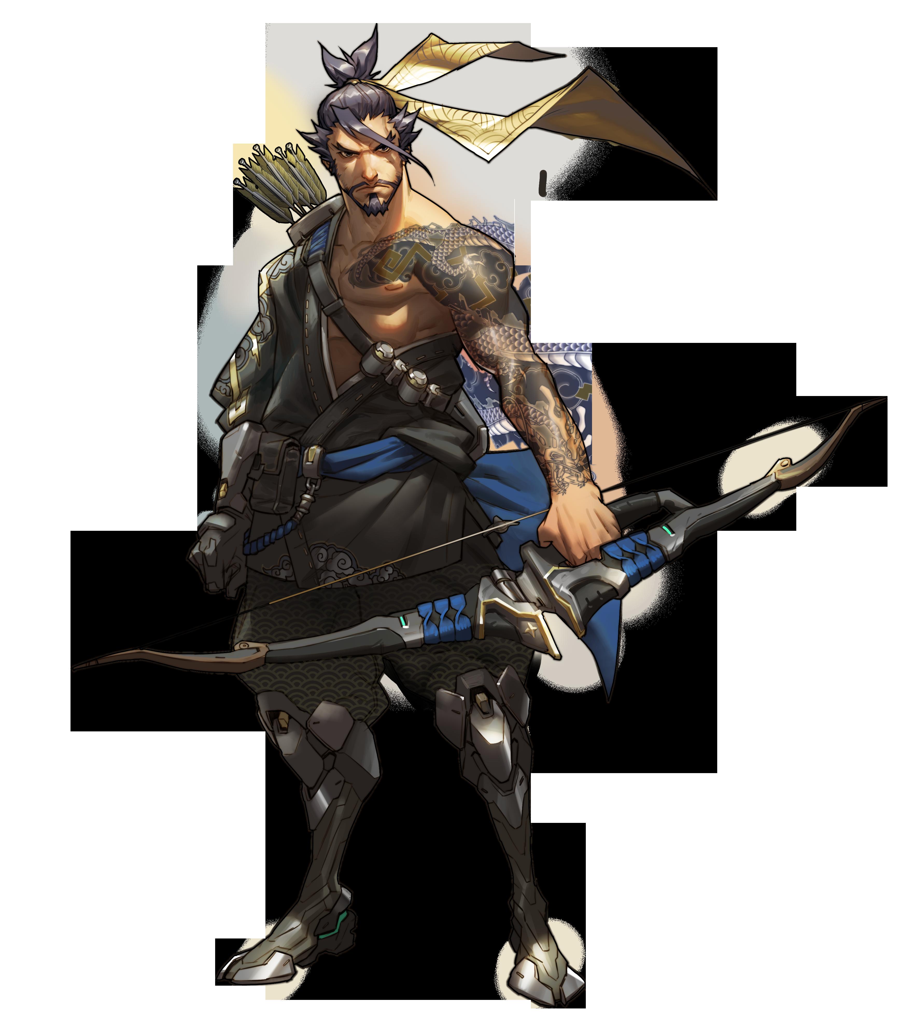 Overwatch Character Art Overwatch Hanzo Concept Art Characters Character Art