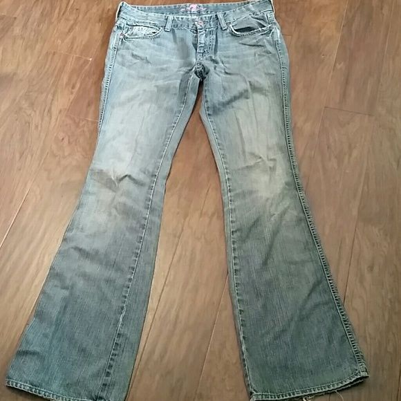 7 jeans Gently used 7 jeans, boot cut, low rise. 7 for all Mankind Jeans Boot Cut