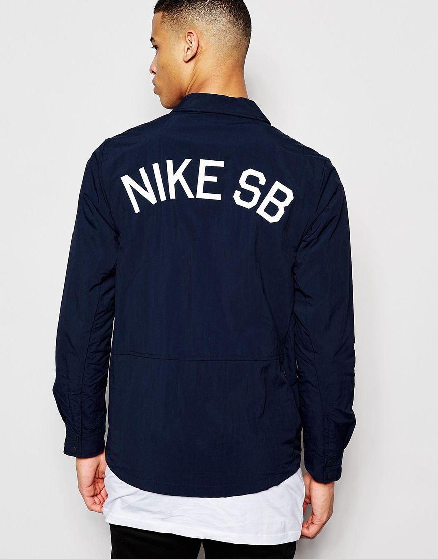 Image 1 of Nike SB Coach Jacket 724258 475 | Nike sb