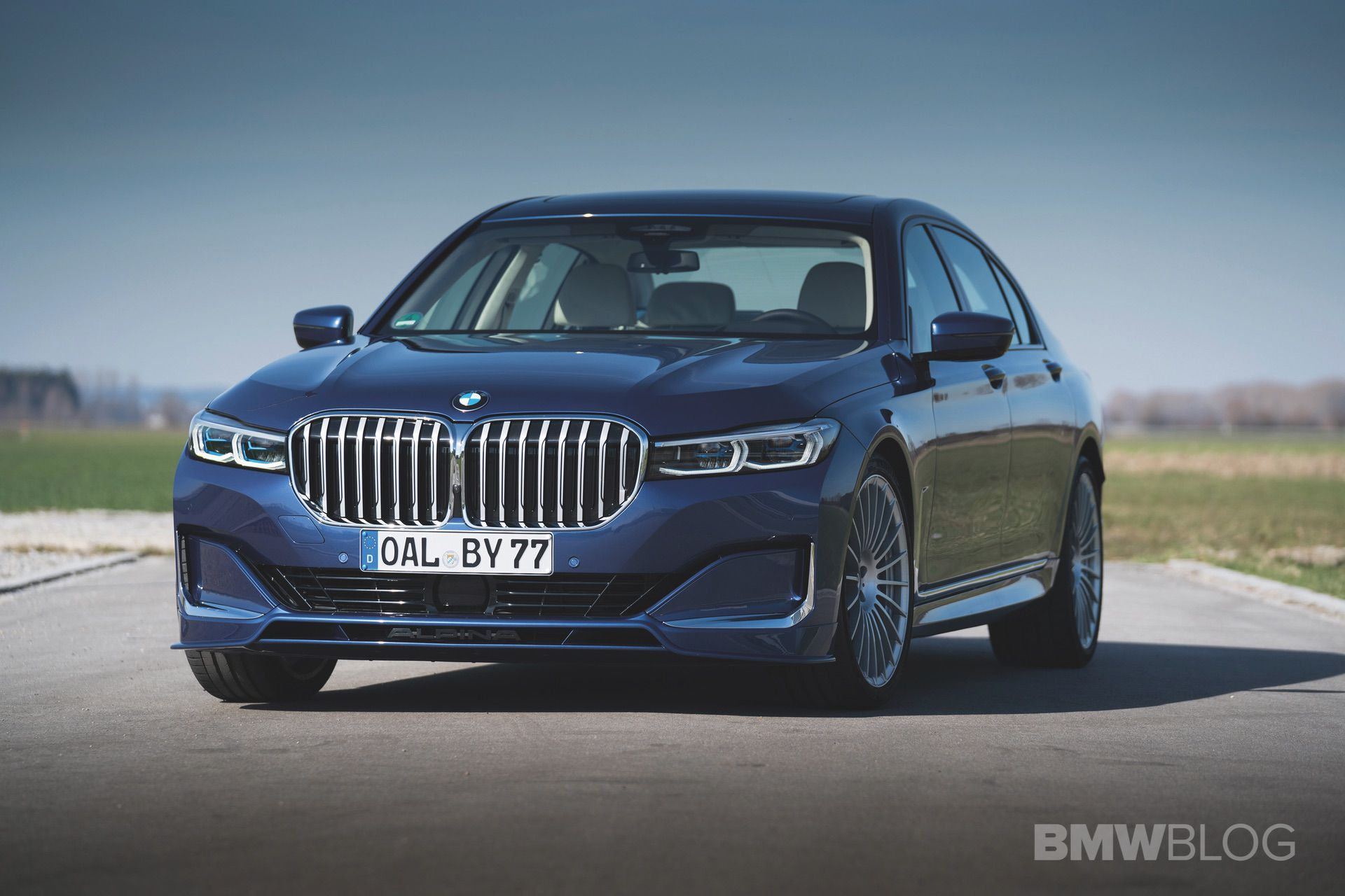 2020 Alpina B7 Xdrive In Alpina Blue A New Photo Gallery Bmw 7