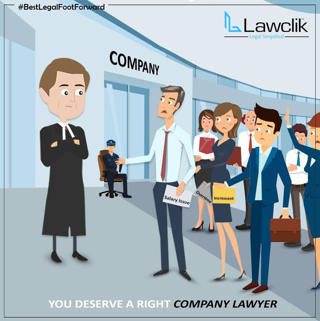 You Deserve A Right Company Lawyer Lawclik Covers All Your Legal