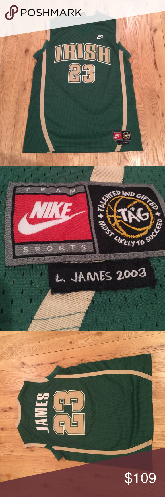 91f064f7c ... discount lebron james high school jersey 100 authentic vintage lebron  james high school jersey 100 authentic