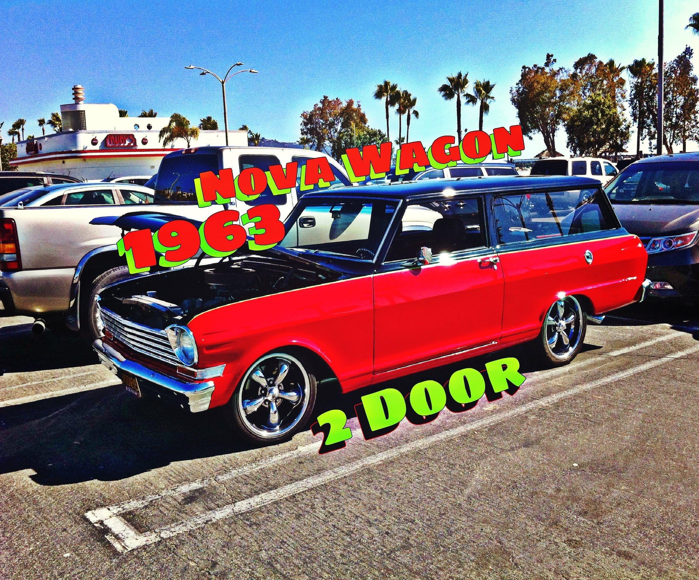 1963 Nova Custom 2 Door Wagon Chevy Nova Wagon Custom