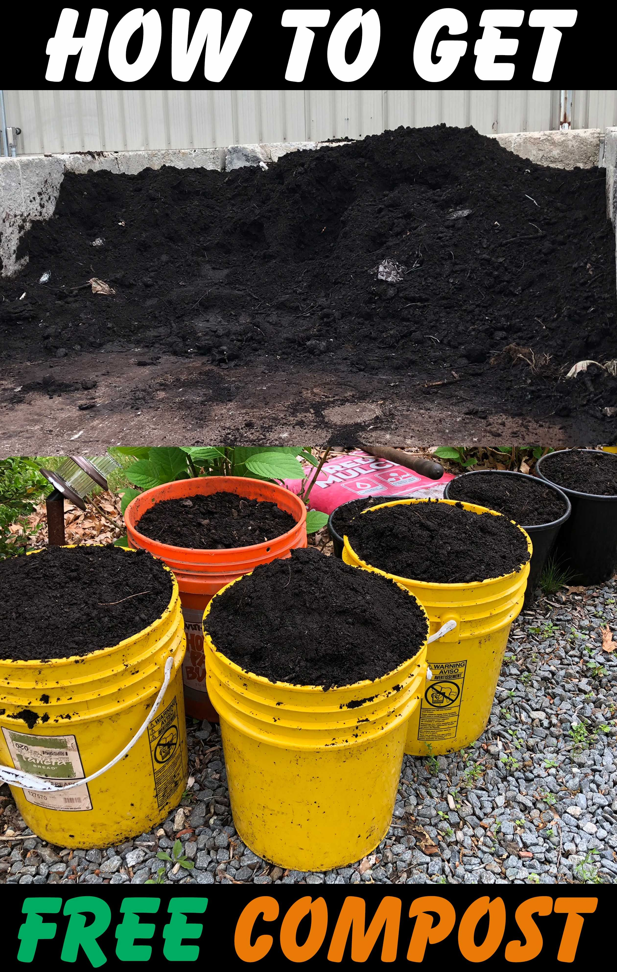 Free compost near me. Here is how you can get free organic