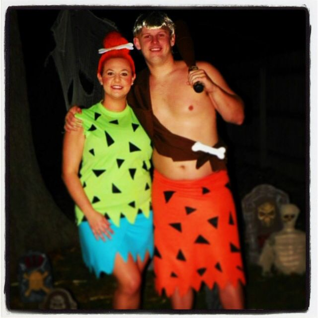 how to make bam bam and pebbles costumes