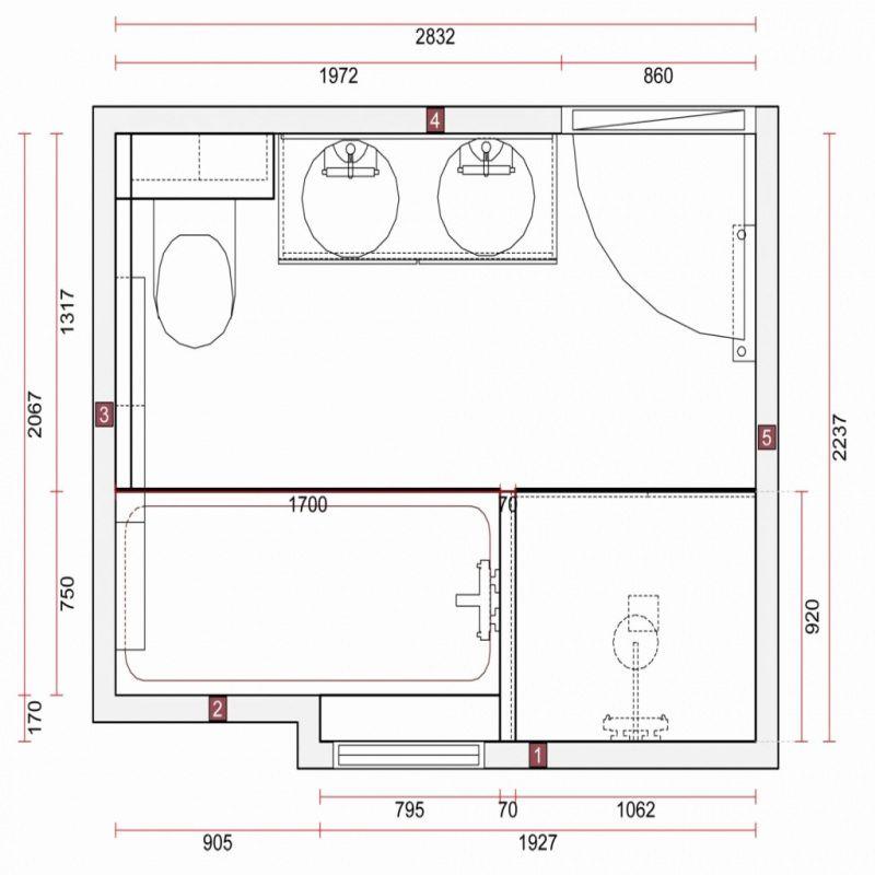 77 Plan Salle De Bain 5m2 Rectangulaire 2018 Plan Salle De Bain Salle De Bain 5m2 Design De Salle De Bain