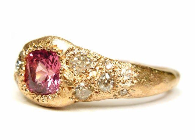 Katherine Bowman 18ct rose gold 'Journey' ring <3