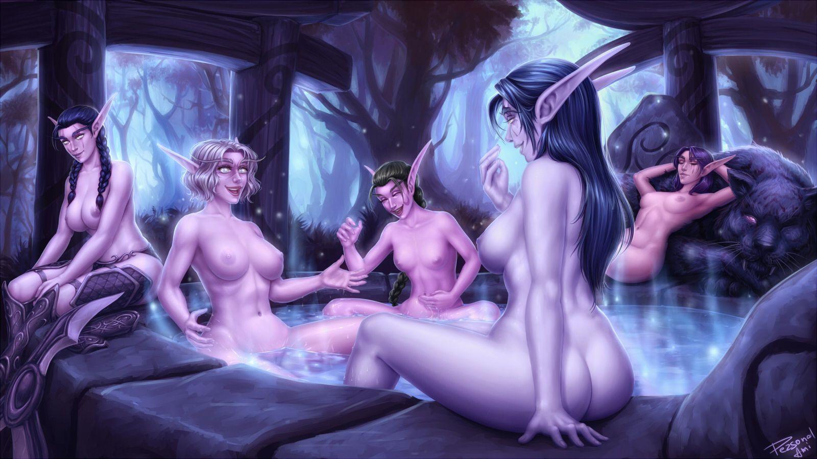 Free nude elven fantasy desktop backgrounds porncraft pictures