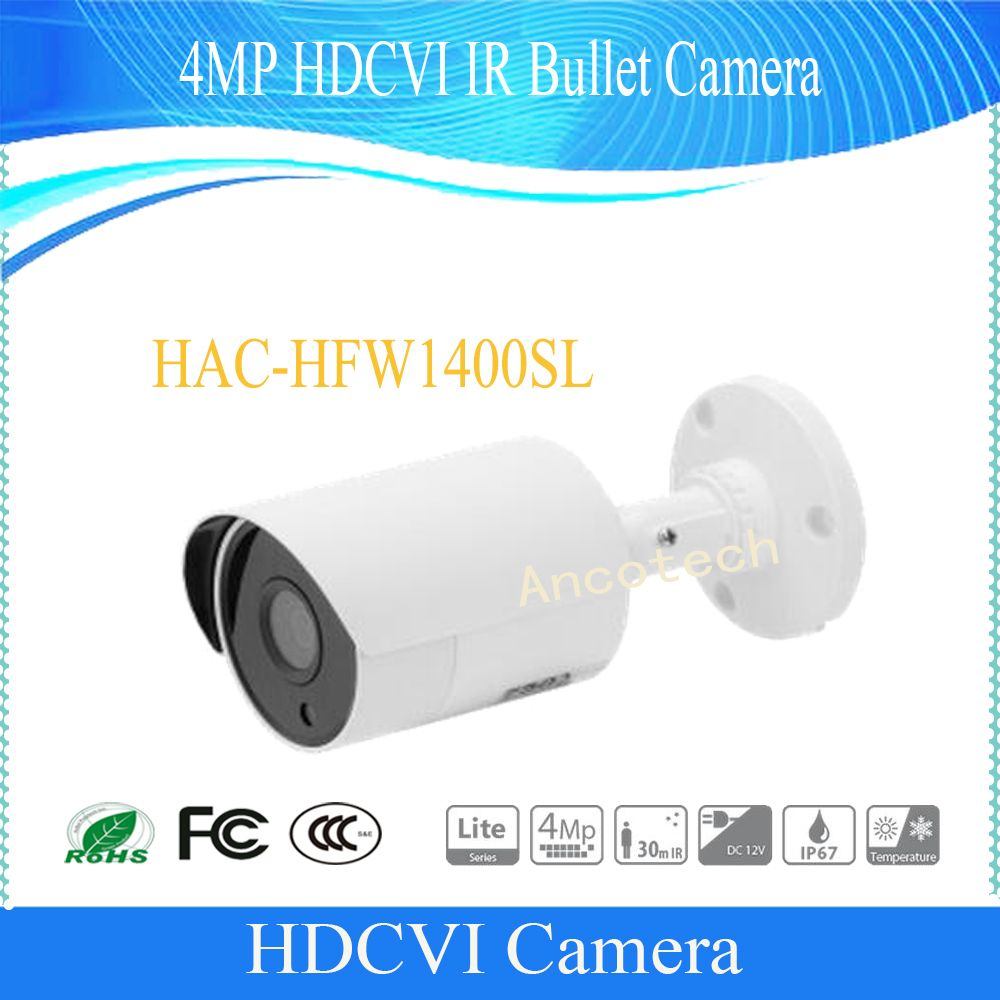 Camera De Surveillance Exterieur Dahua Free Shipping Dahua Security Camera Cctv 4mp Hdcvi Ir Bullet