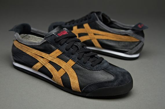 cheap sale latest fashion so cheap Onitsuka Tiger Mexico 66 Vin - Mens Select Footwear - Black-Tan ...