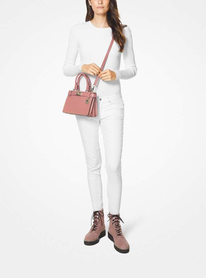 a8cd02c777bd MICHAEL Michael Kors Tatiana Mini Leather Satchel | Products ...