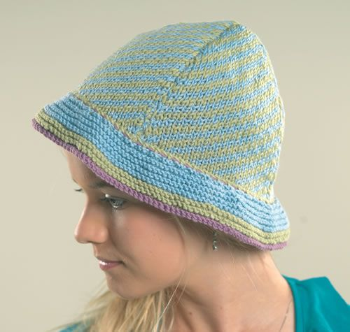Nina - Free Knitting Patterns - Hat & Glove Patterns