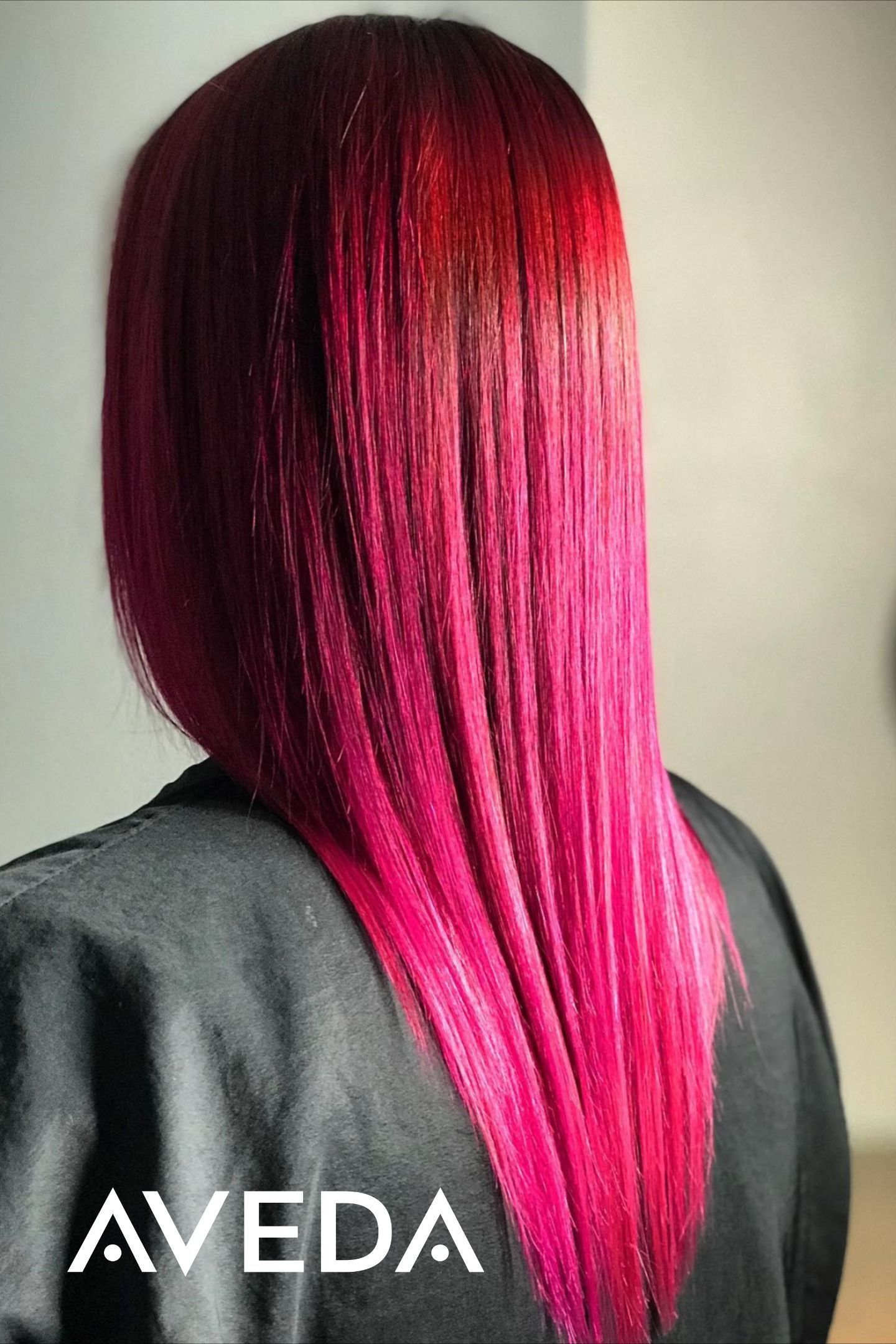 Dark pink hair color #avedasalon Did you know you can get a hot pink fashion hair color this