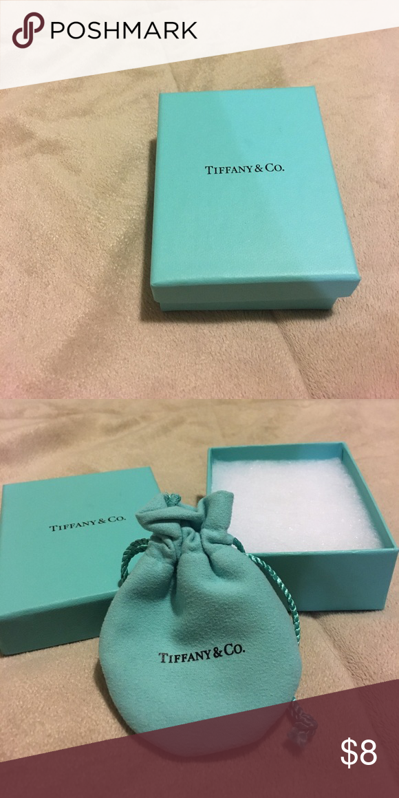 Tiffany's box, bag and stuffing Box, bag and stuffing for the box. Perfect condition. Tiffany & Co. Other
