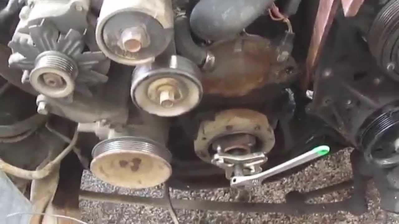 How To Remove A Broken Water Pump Bolt Diy Repair Auto Repair Car Maintenance