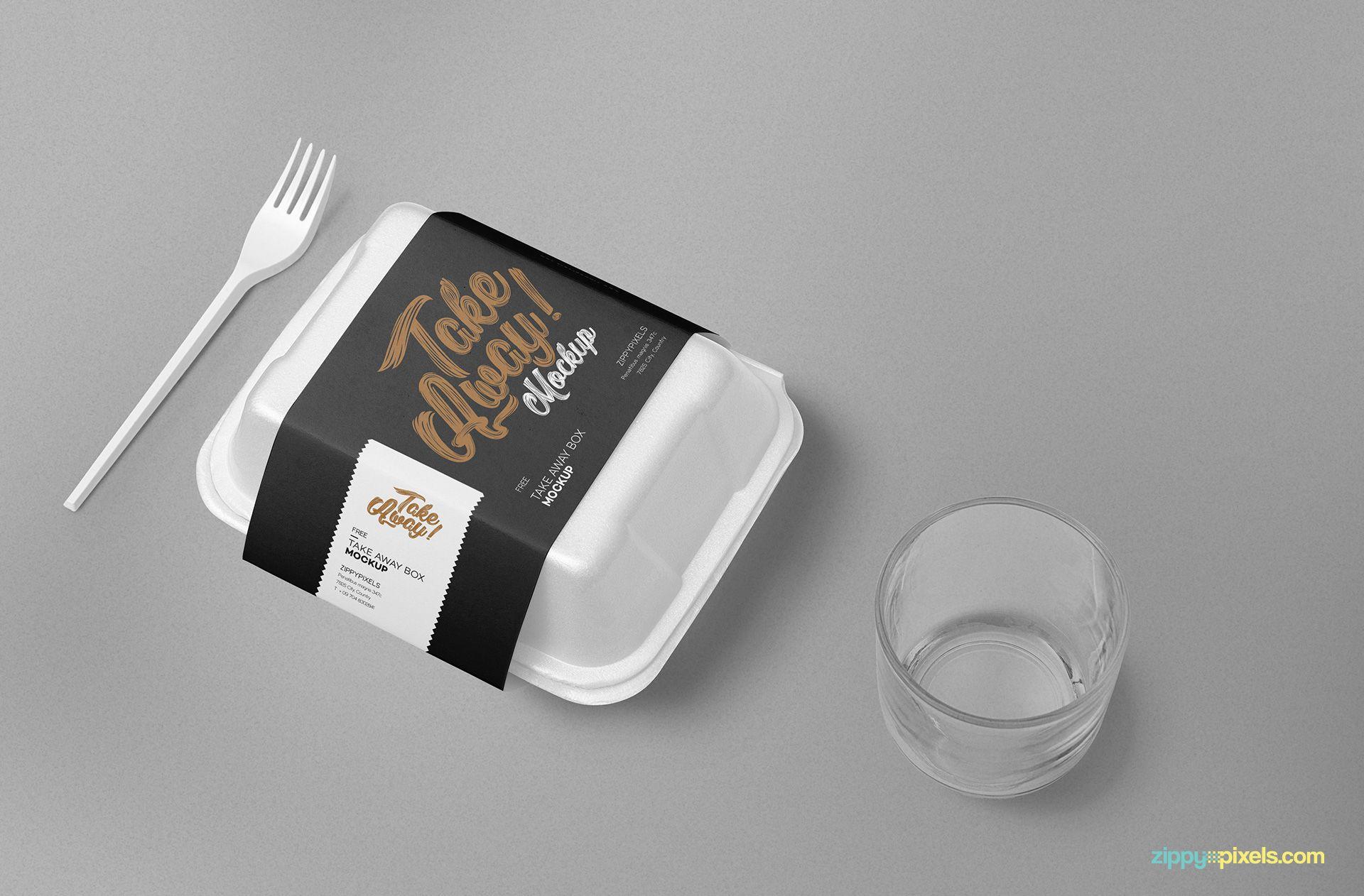 Download Free Disposable Food Packaging Mockup Zippypixels Food Packaging Packaging Design Packaging Mockup