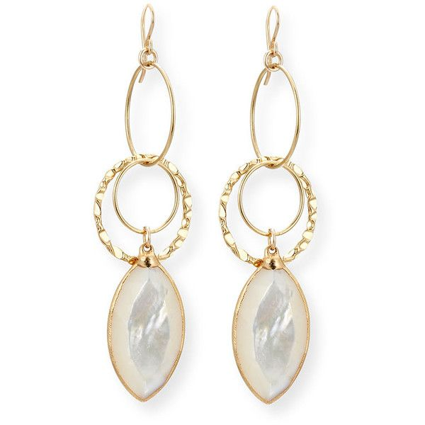 Devon Leigh Mother-of-Pearl Dangle Drop Earrings hudIhWqo