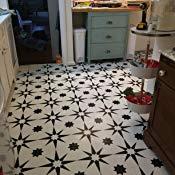 Floorpops Fp2948 Altair Peel Stick Floor Tile Black Amazon Com Peel And Stick Floor Kitchen Projects Contemporary Rug