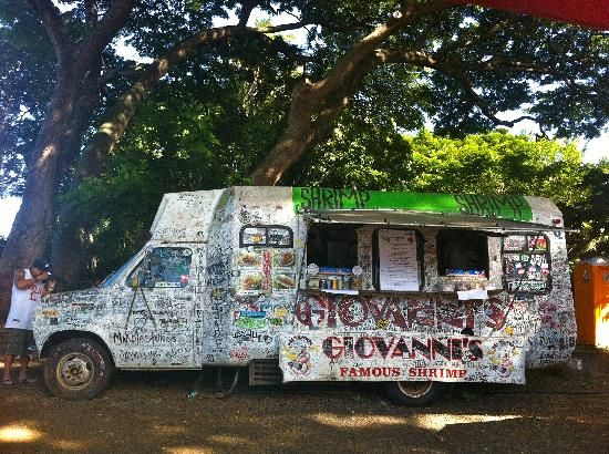 I heard this place was good...for Eric, not Christen!!!   Giovanni's Shrimp Truck, Haleiwa  Hawaii...must go to!