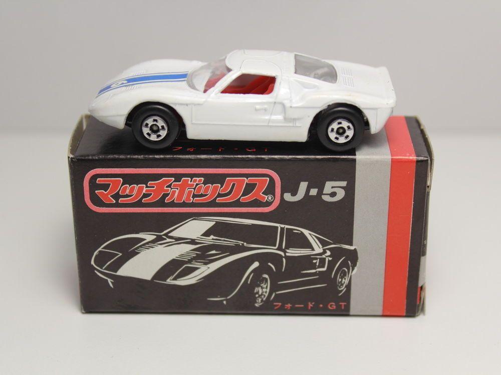 Matchbox Superfast No  Ford Gt Japan Box J  Lesney Matchbox