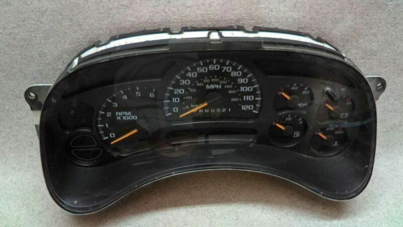 Speedometer Instrument Cluster 15287370 Fits 06 07 Gmc Sierra
