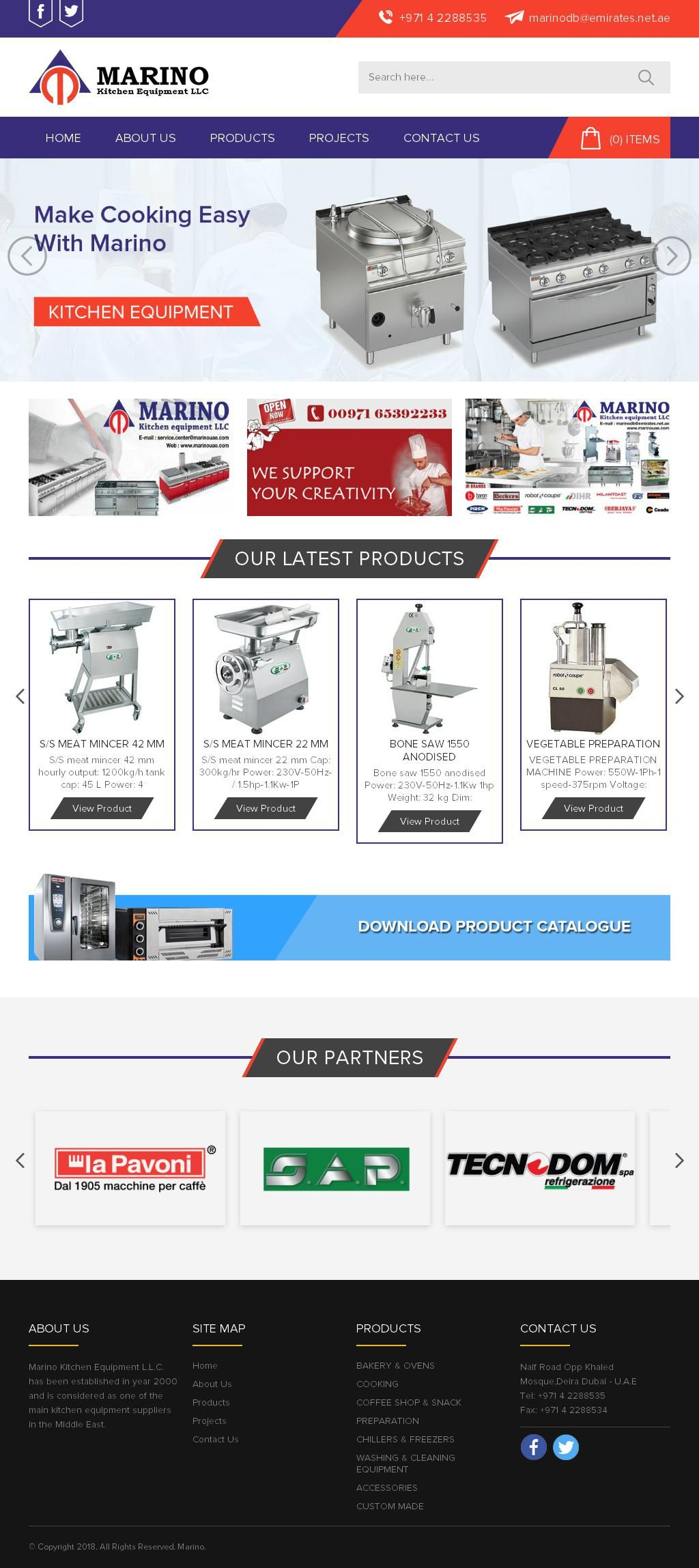 Marino Kitchen Equipment, Llc ETA Star House, 173, Salah