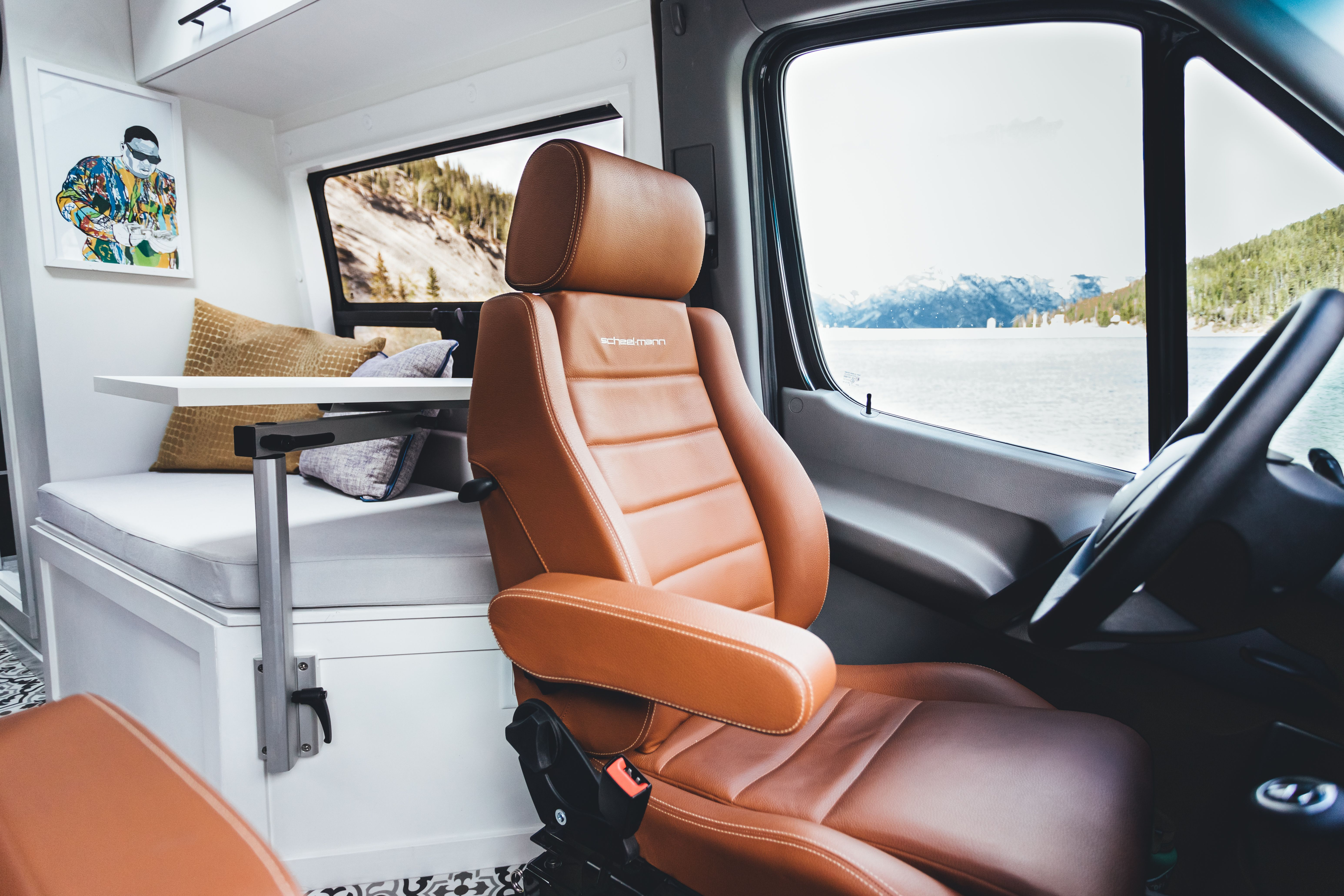 The Captain S Chair The Best Spot In The House Vanlife