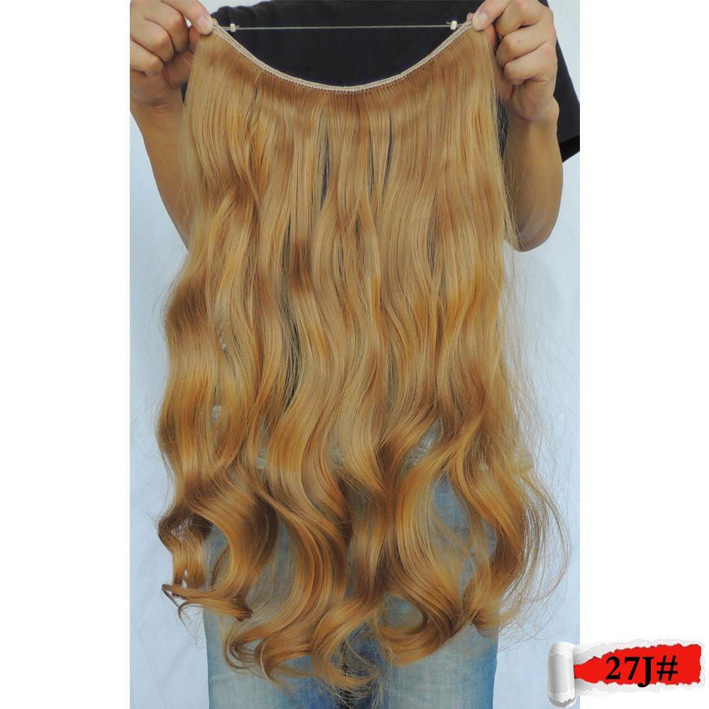 Mega Hair Extensions Aplique De Cabelo Sintetico In Fiber False
